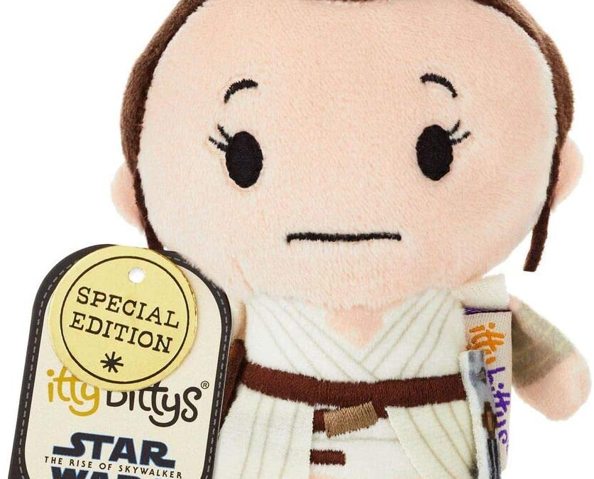New Rise of Skywalker Rey Itty Bittys Plush Toy available now!