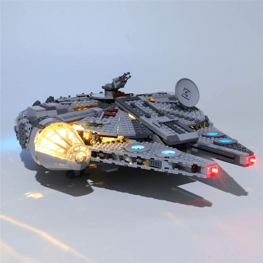 TROS Millennium Falcon LED Light Lego set 1