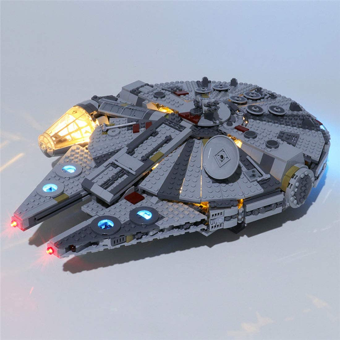 TROS Millennium Falcon LED Light Lego set 2