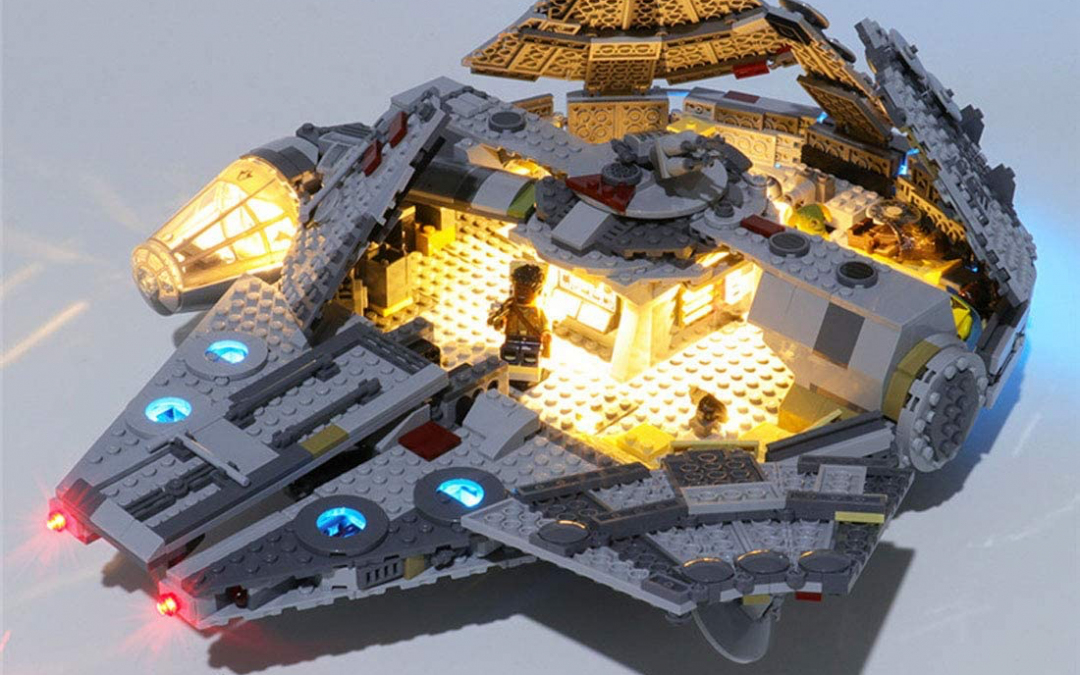 New Rise of Skywalker Millennium Falcon LED Light Lego set available!