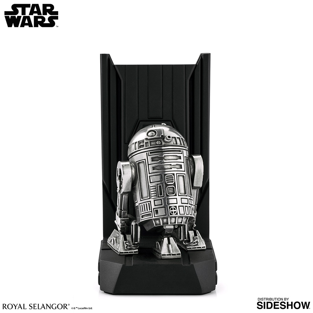 SW R2-D2 Bookend Statue 2