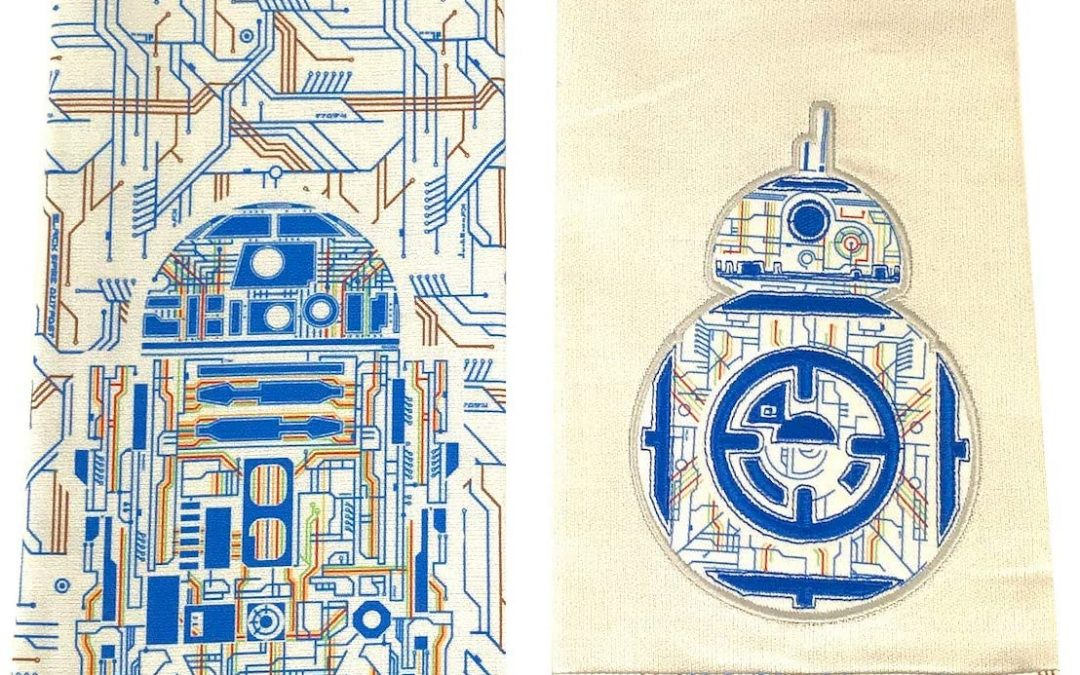 New Galaxy's Edge Droid Depot Dish Kitchen Towel Set available now!