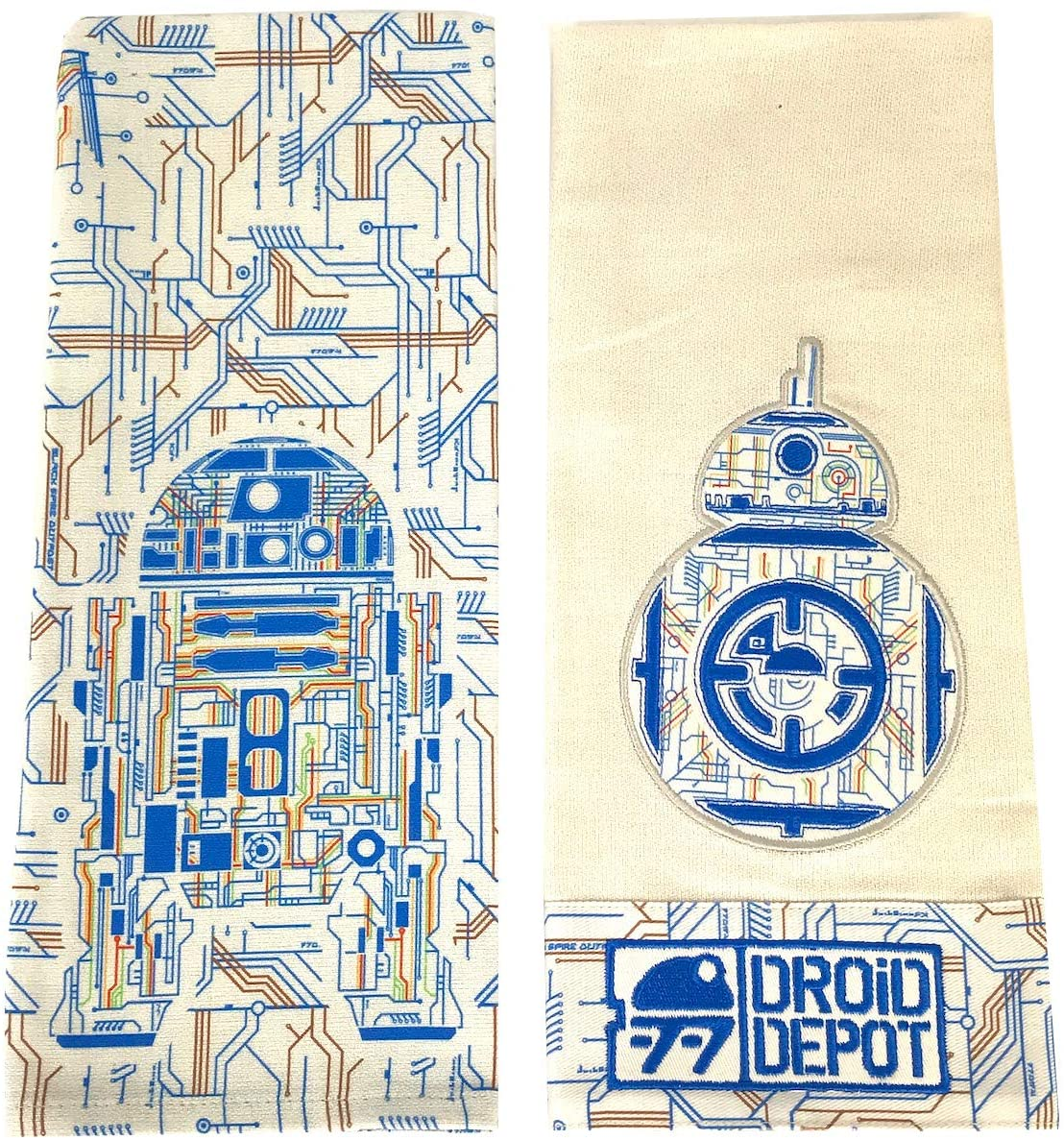 SWGE Droid Depot Dish Kitchen Towel Set 1