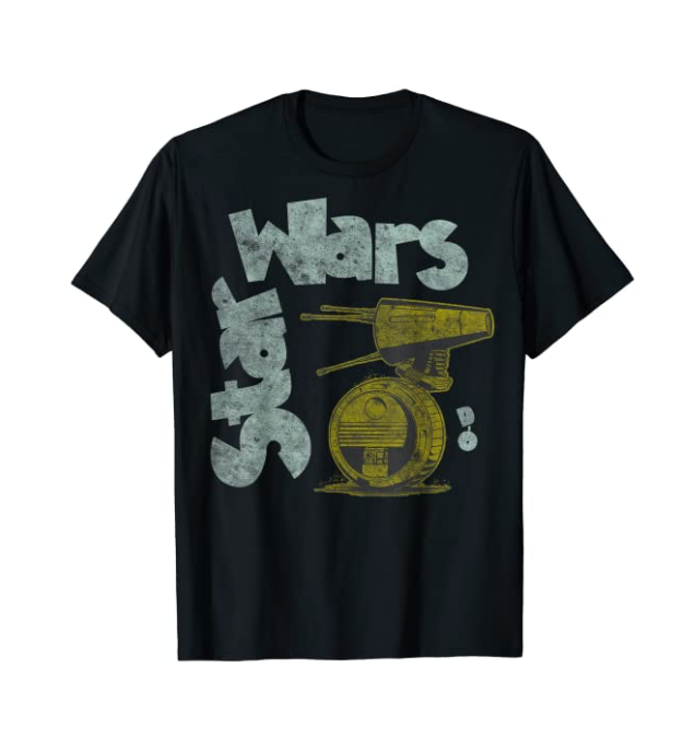 New Rise of Skywalker Retro D-0 T-Shirt available now!