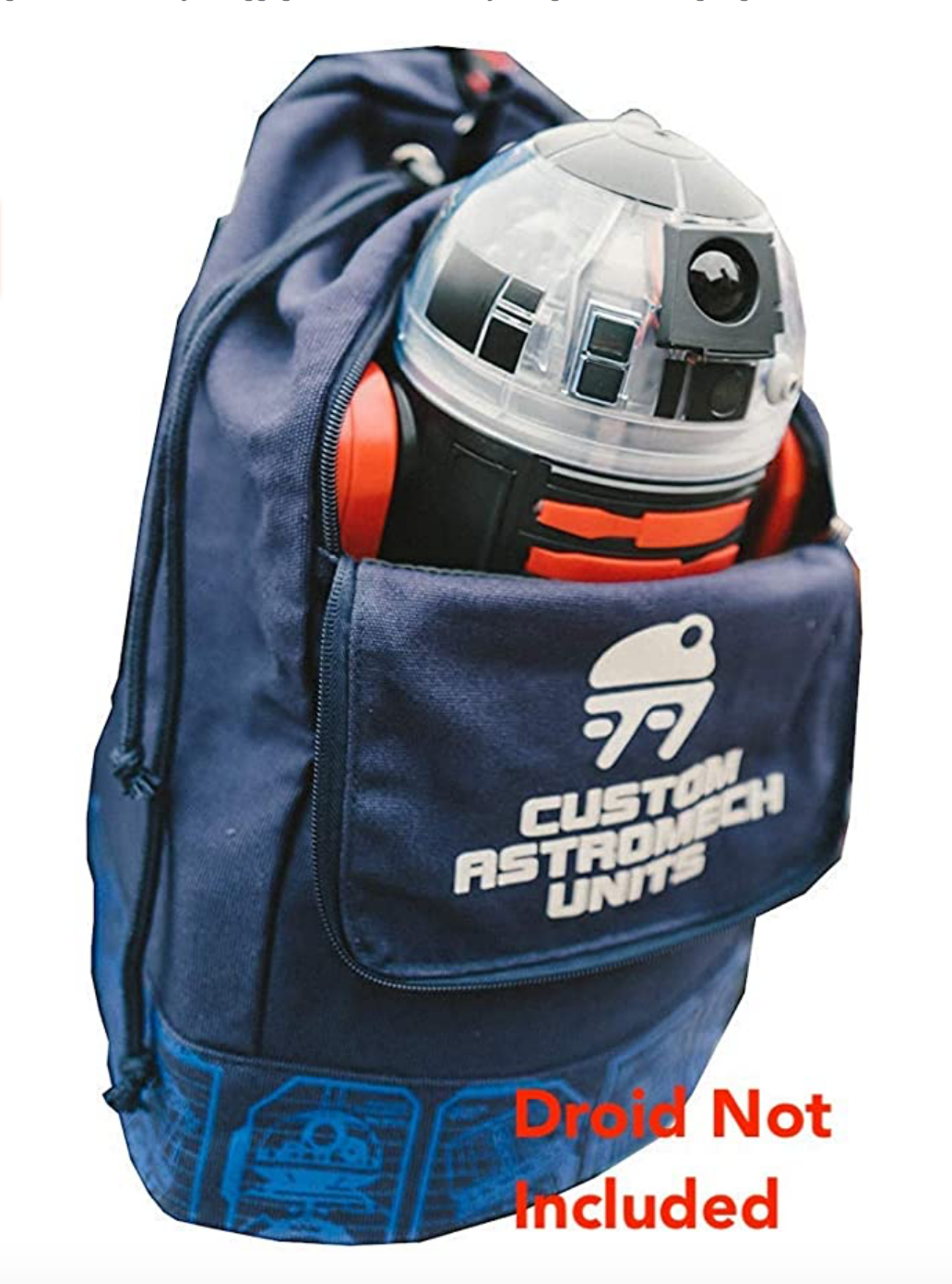 SWGE Droid Depot Industrial Automaton Astromech Carrier Drawstring Backpack 2