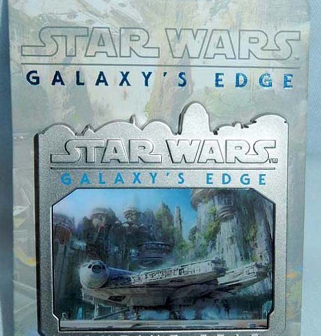 New Galaxy's Edge Millennium Falcon Landing Limited Edition Pin available!