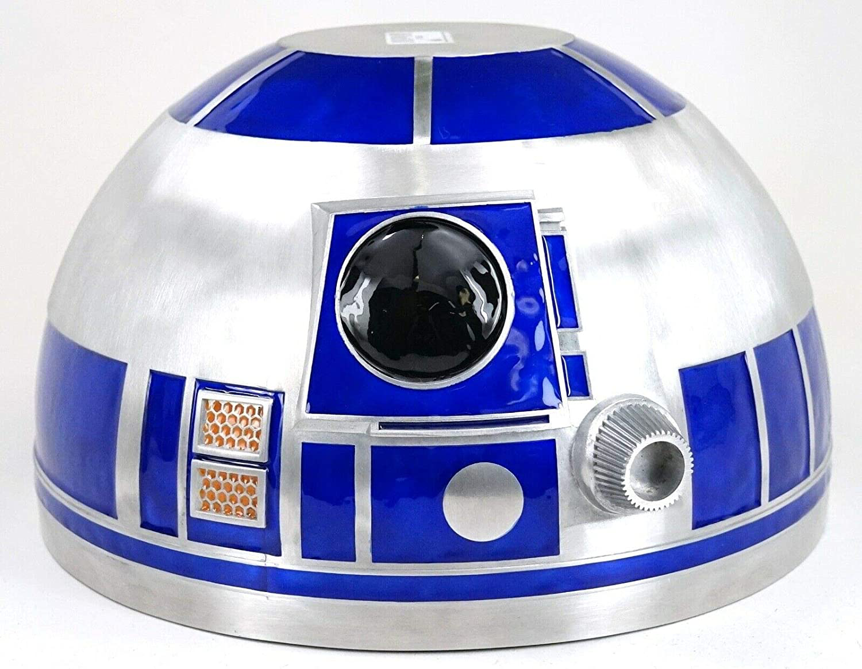 "SWGE R2-D2 Droid Head 10"" Metal Serving Bowl 1"
