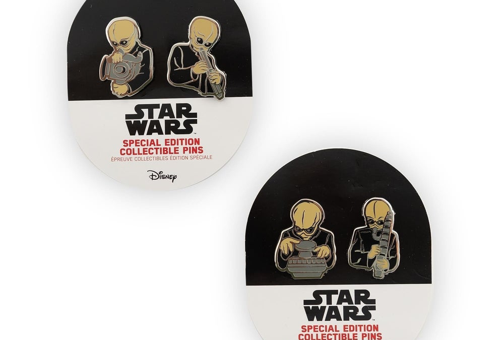 New Star Wars Cantina Band Collectible Pin Set available now!