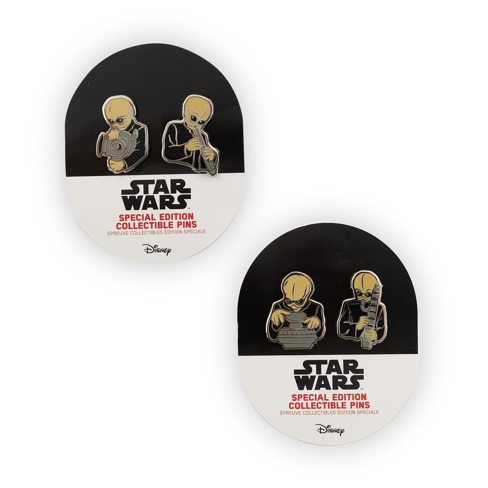 SW Figrin D'an and the Modal Nodes Cantina Band Collectible Pin Set 1