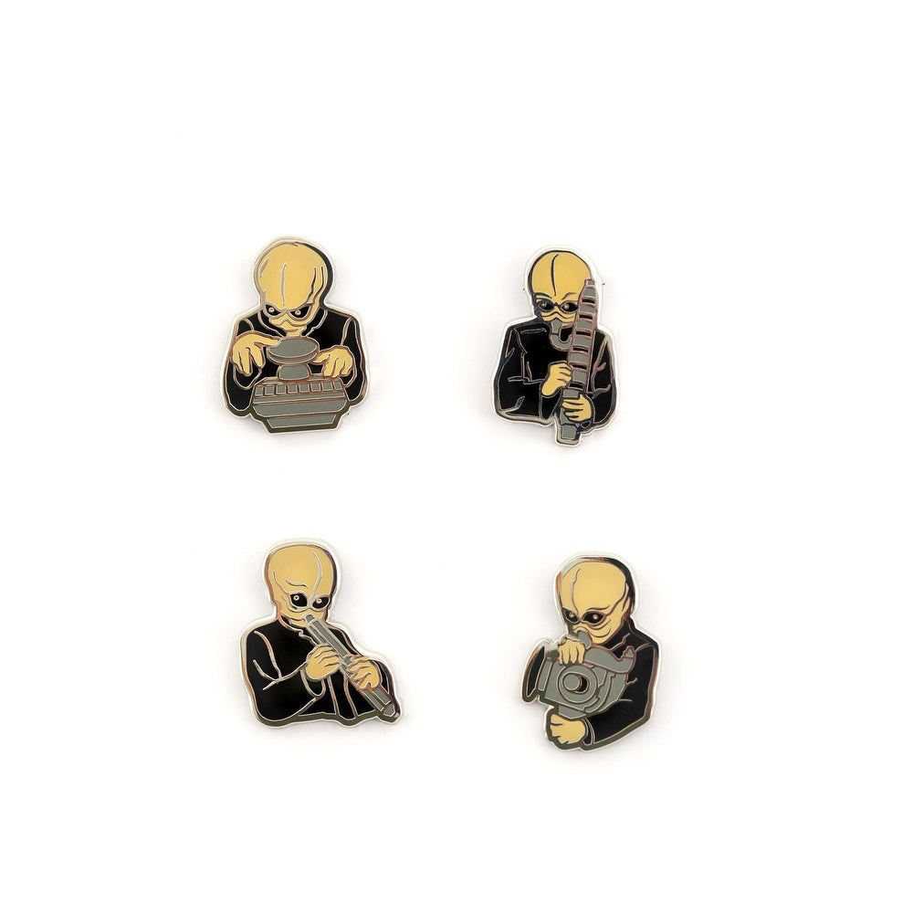 SW Figrin D'an and the Modal Nodes Cantina Band Collectible Pin Set 2