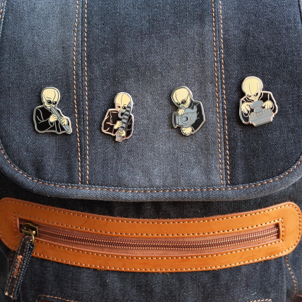 SW Figrin D'an and the Modal Nodes Cantina Band Collectible Pin Set 3