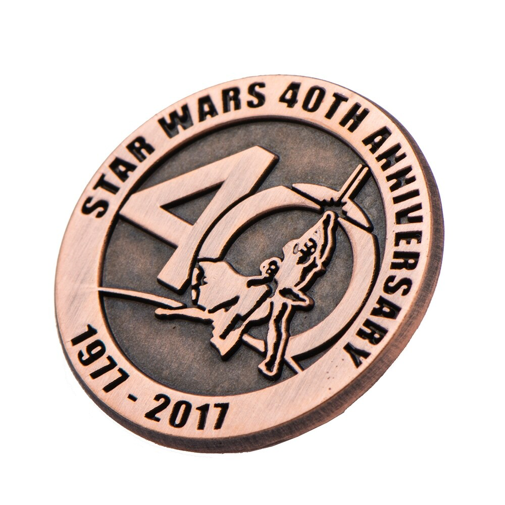 SW 40th Anniversary Collectible Bronze Pin