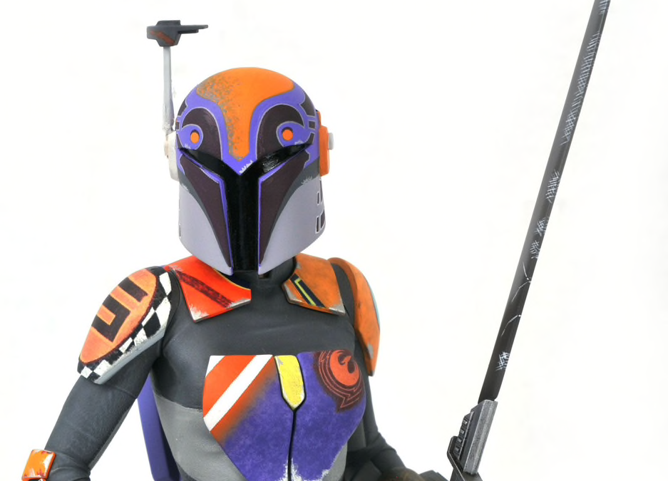 New Star Wars Rebels Sabine Wren Mini Bust available for pre-order!