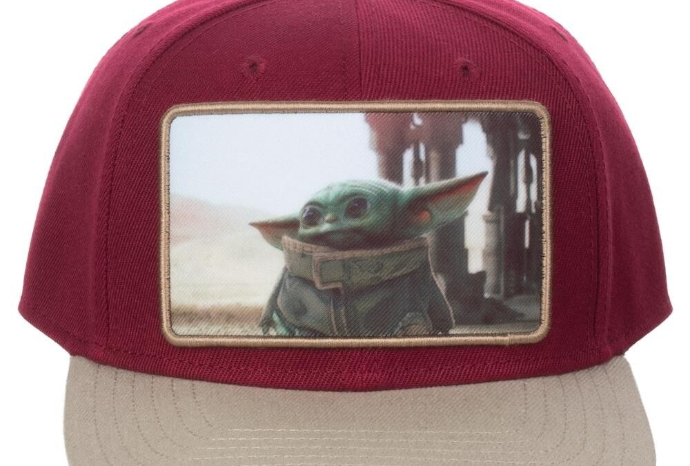 New The Mandalorian The Child Pre-Curved Bill Snapback Hat available!