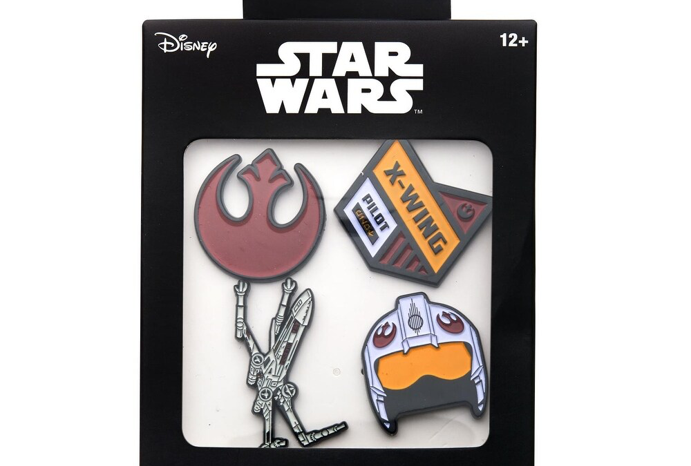 New Star Wars Rebel Alliance Enamel Pins 4-Pack available now!