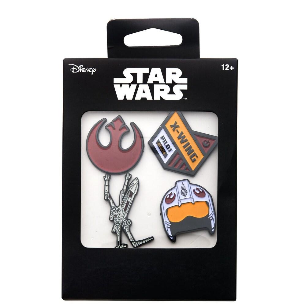 SW Rebel Alliance Enamel Pins 4-Pack 1