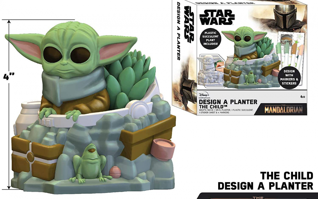 New The Mandalorian The Child Design A Planter item available!