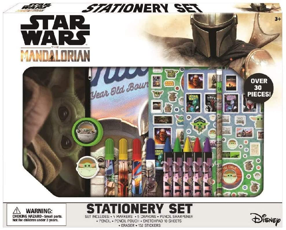 TM Coloring 30 Pc. Stationary Set 1