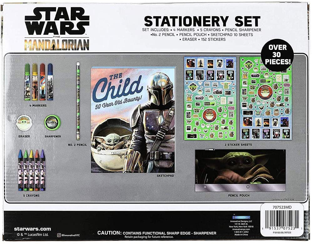 TM Coloring 30 Pc. Stationary Set 2