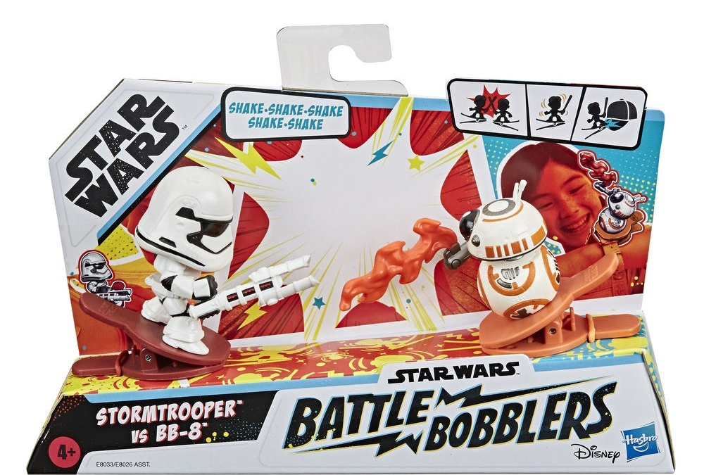 New Stormtrooper Vs BB-8 Clip-able Battling Figure 2-Pack available!