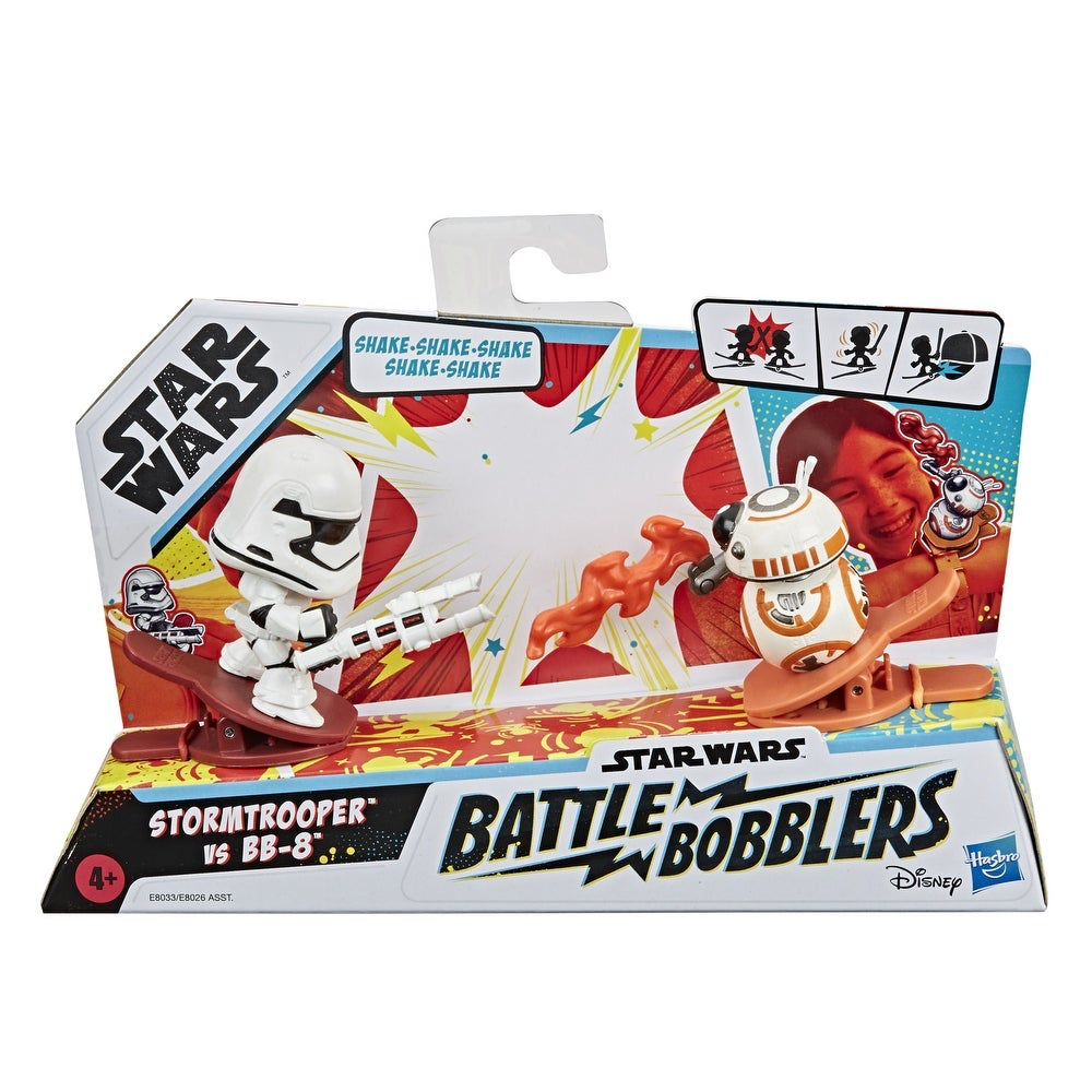 TFA FO Stormtrooper Vs BB-8 Clip-able Battling Figure 2-Pack 1