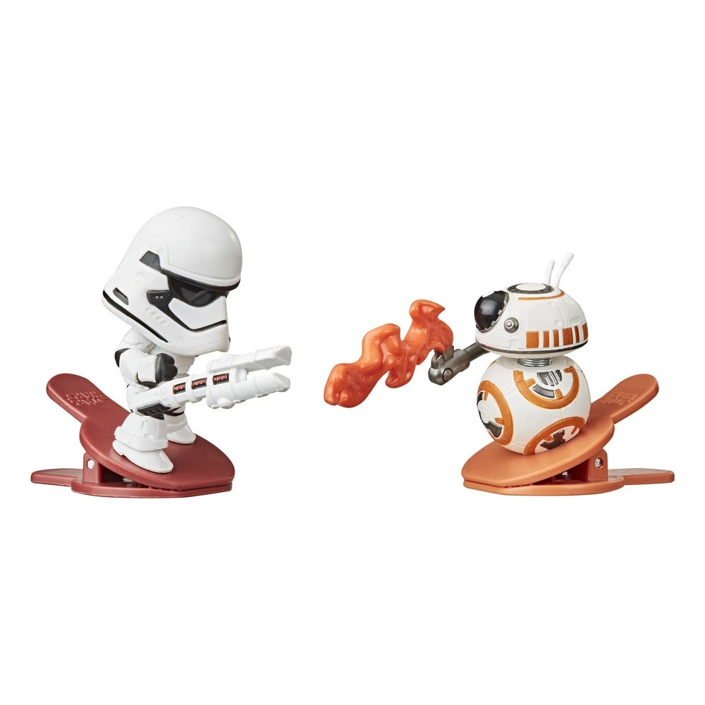 TFA FO Stormtrooper Vs BB-8 Clip-able Battling Figure 2-Pack 2