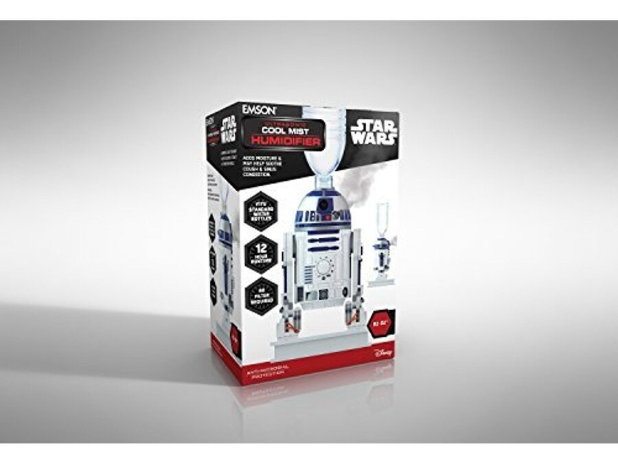 New Star Wars R2-D2 Ultrasonic Cool Mist Personal Humidifier available!