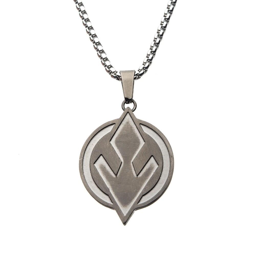 SW Sith Symbol Steel Pendant Necklace 1