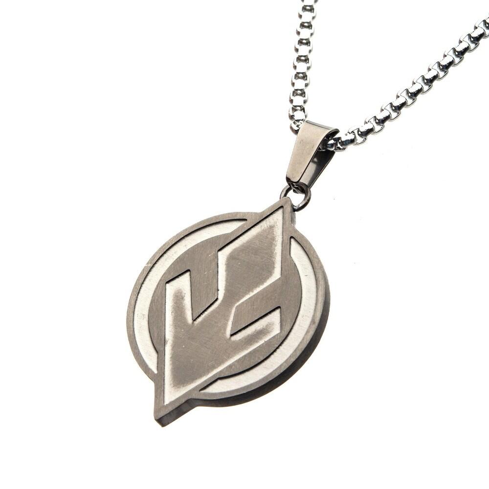 SW Sith Symbol Steel Pendant Necklace 2