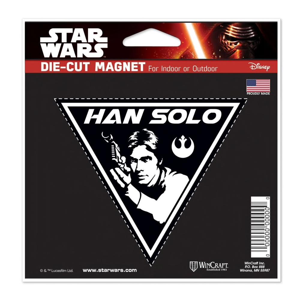 SW Han Solo Die Cut Magnet