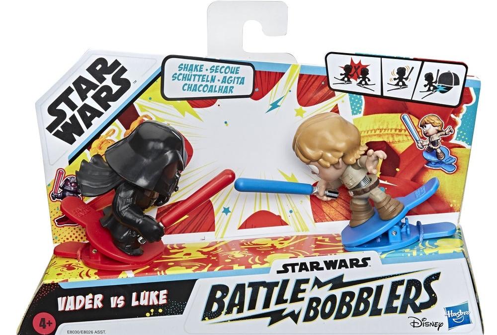 New Darth Vader Vs Luke Skywalker Clip-able Battling Figure 2-Pack available!