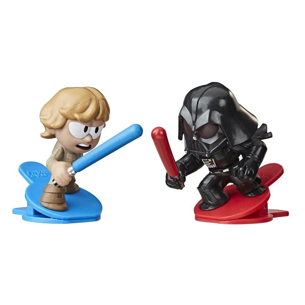 TESB Darth Vader Vs Luke Skywalker Clip-able Battling Figure 2-Pack 2
