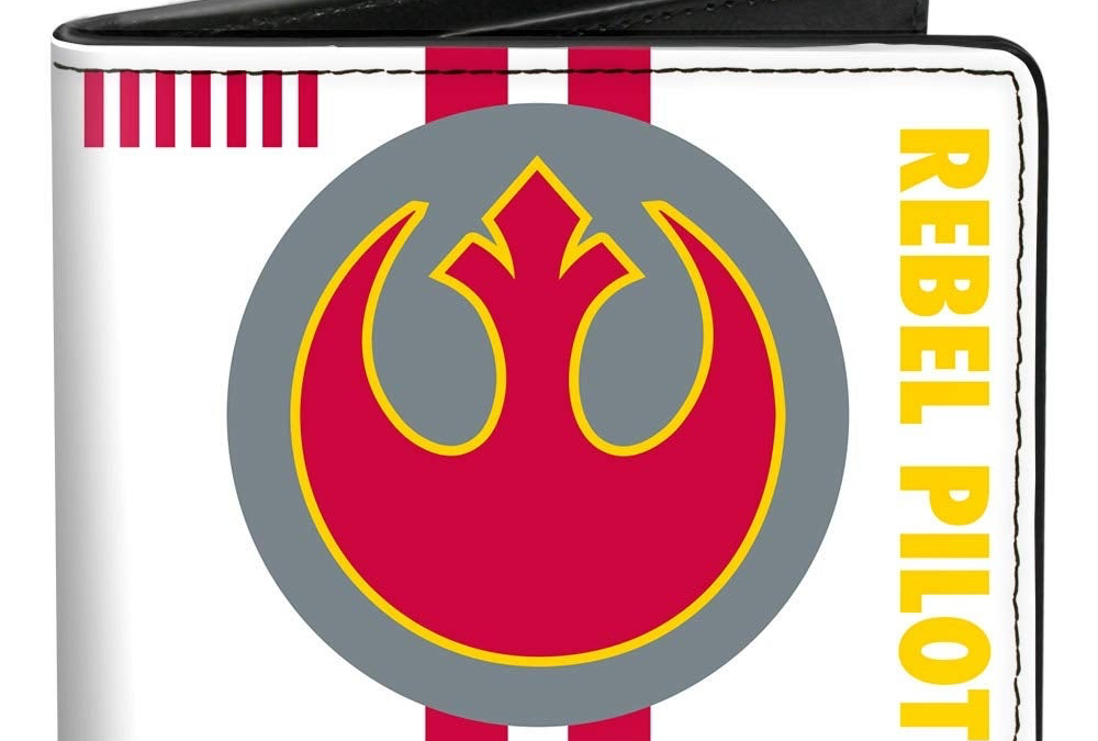 New Star Wars Rebel Alliance Insignia/Rebel Pilot Bi-Fold Wallet available!