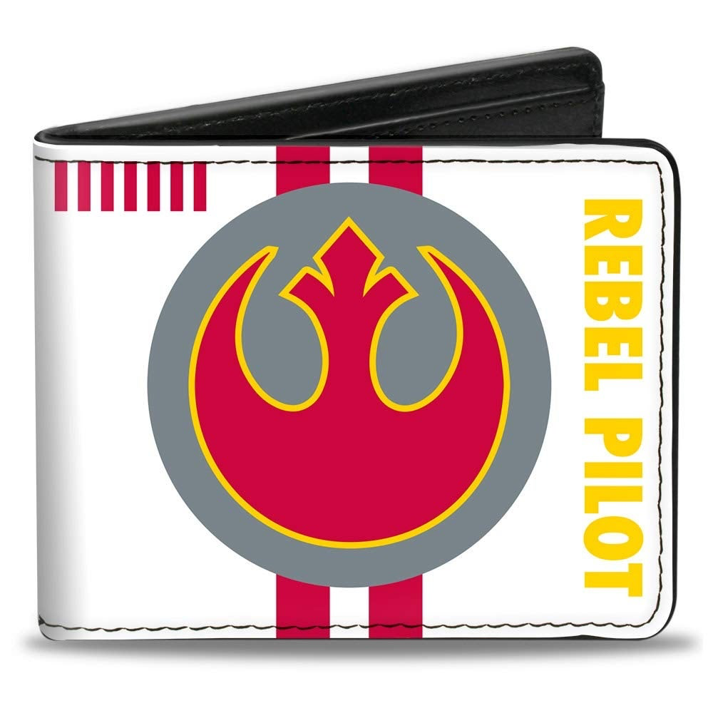 Star Wars Rebel Alliance Insignia/Rebel Pilot Bi-Fold Wallet 1