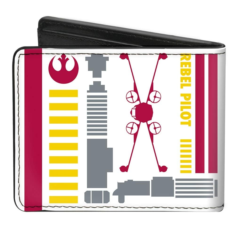 Star Wars Rebel Alliance Insignia/Rebel Pilot Bi-Fold Wallet 2