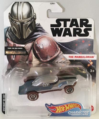 New The Mandalorian Hot Wheels Mando Character Car (Wave 3) available!