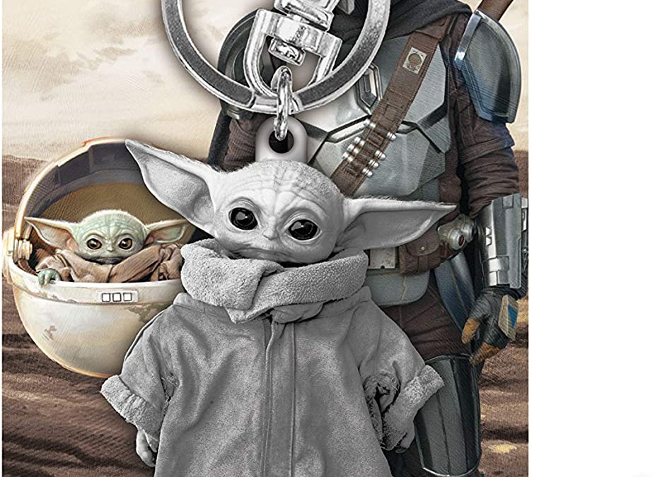 New The Mandalorian The Child Pewter Key Ring available for pre-order!