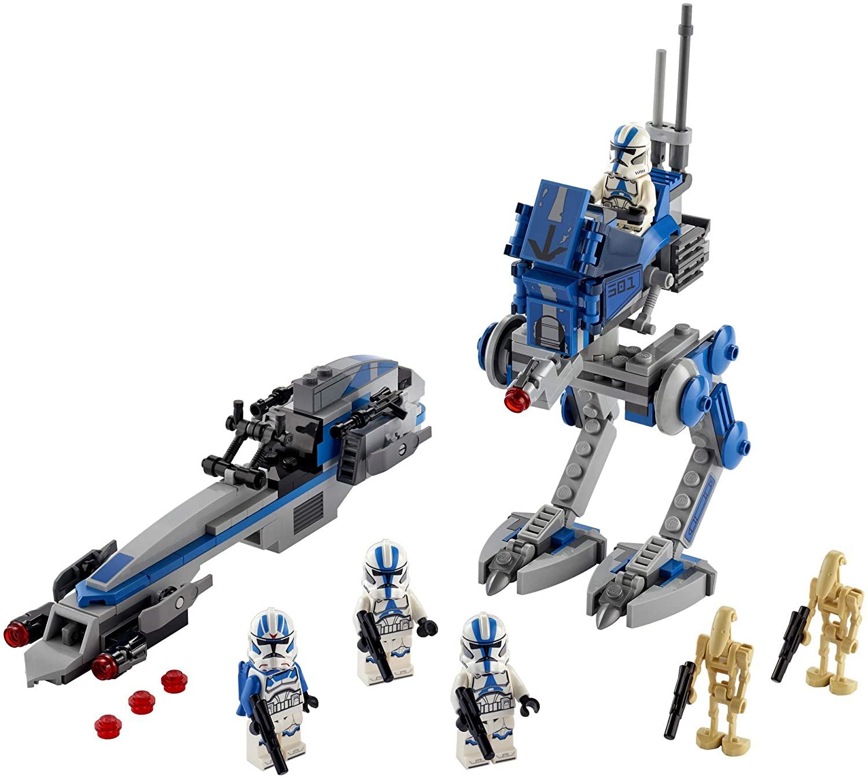 SWTCW 501st Legion Clone Troopers Lego Set 3