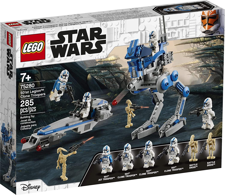 SWTCW 501st Legion Clone Troopers Lego Set 1