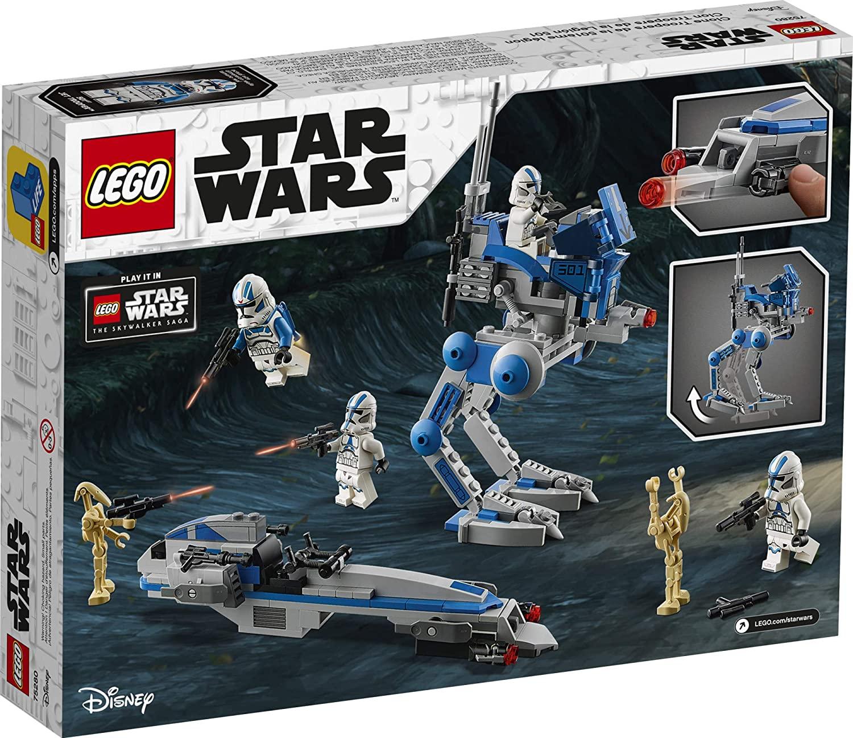 SWTCW 501st Legion Clone Troopers Lego Set 2