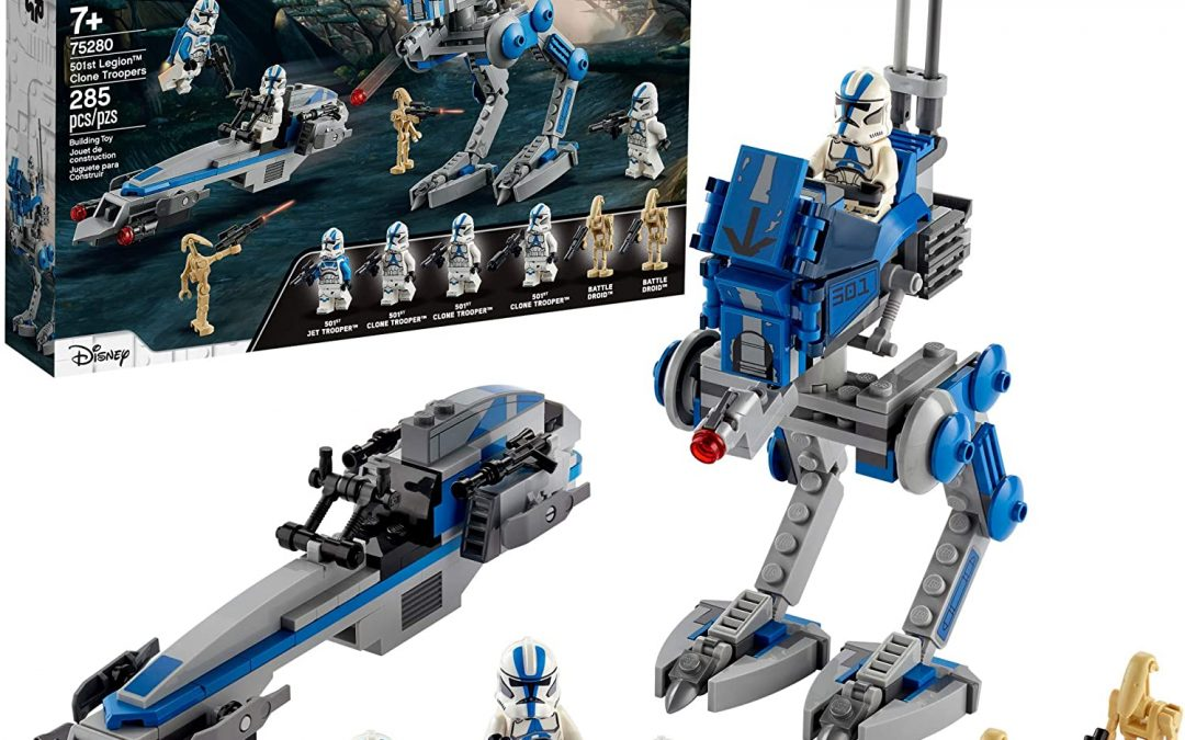 New Clone Wars 501st Legion Clone Troopers Lego Set available now!