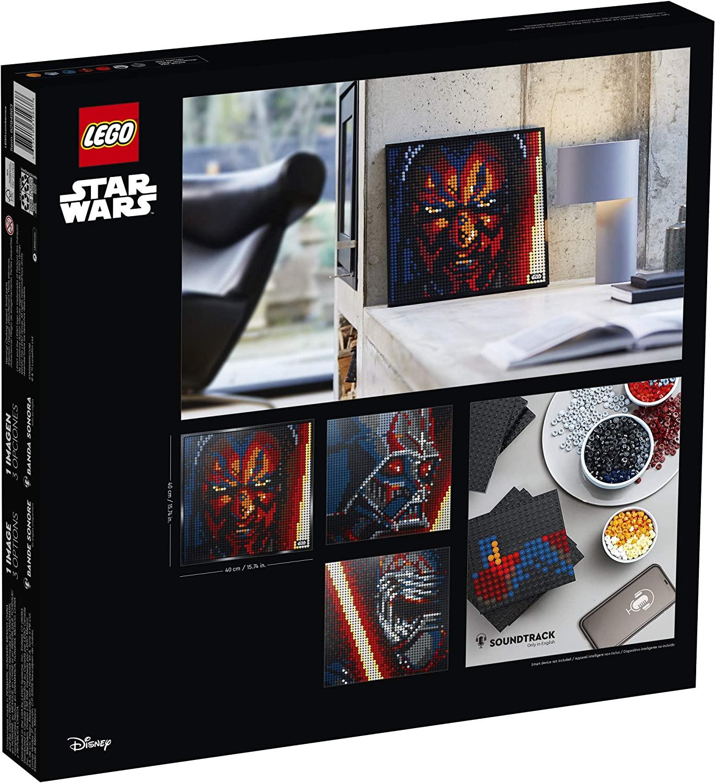 SW Sith Creative Art Picture Lego Set 2