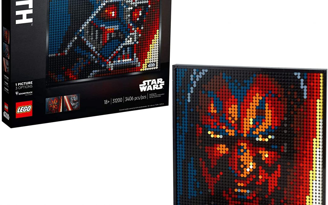 New Star Wars Sith Creative Art Picture Lego Set available now!