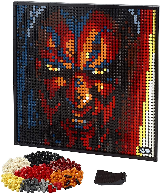 SW Sith Creative Art Picture Lego Set 3