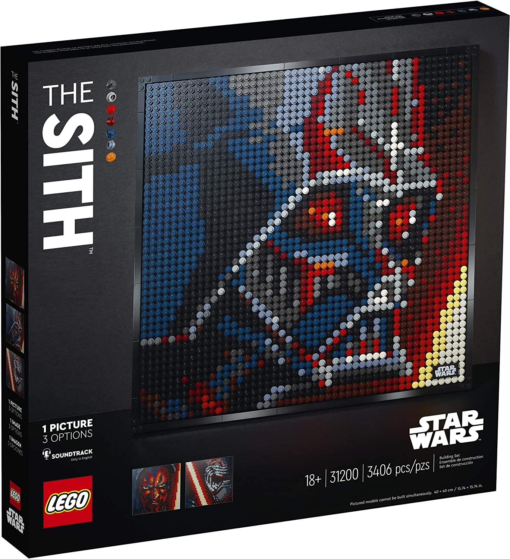 SW Sith Creative Art Picture Lego Set 1