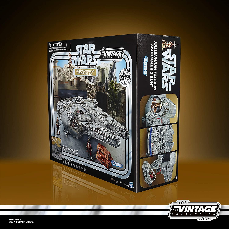 SWGE Smuggler's Run Millennium Falcon Vintage Set 3