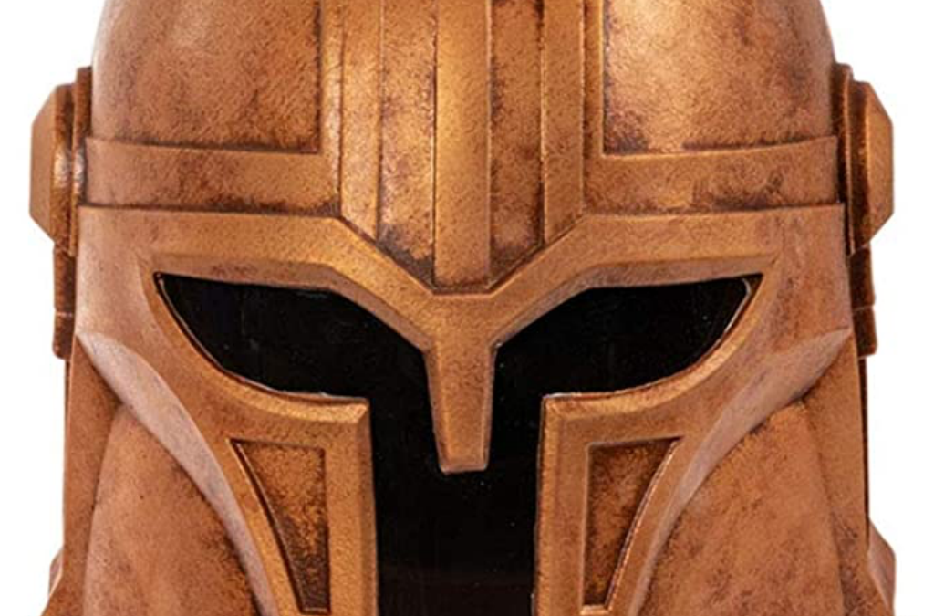 New The Mandalorian The Armorer Helmet Halloween Mask available!