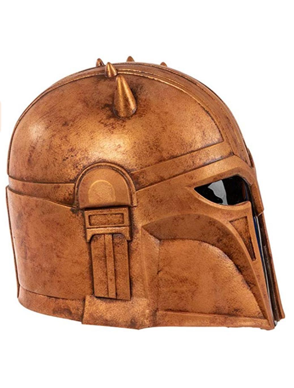 TM The Armorer Helmet Halloween Mask 3