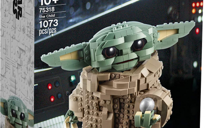 New The Mandalorian The Child Statue Lego Set available for pre-order!
