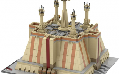 New Star Wars The Jedi Temple Lego set now available!